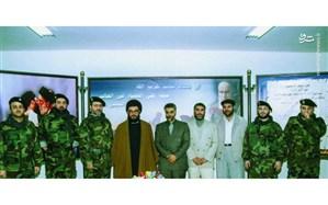 تصویر/ شهید کاظمی و شهید سلیمانی در کنار سیدحسن نصرالله