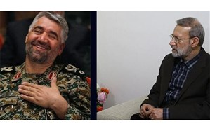 علی لاریجانی از سردار فضلی عیادت کرد