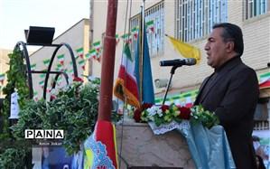 نواخته شدن نمادین زنگ ملی انقلاب در مدارس فارس