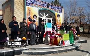 نواخته شدن زنگ انقلاب در شهر زیارت شیروان