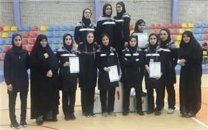 افتخار آفرینی تیم تکواندو دانشجویان دنشگاه فرهنگیان استان اصفهان