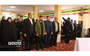 زنگ گلبانگ انقلاب در مدارس استان مرکزی نواخته شد