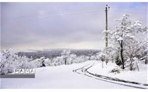 تداوم هوای سرد و بارش برف تا آخر هفته در اردبیل و تعطیلی مدارس ابتدایی