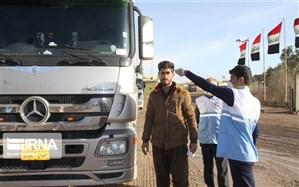 فعالیت تیمهای بهداشتی در مرزهای قصرشیرین به صورت شبانهروزی