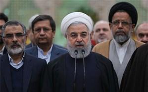 روحانی: امام می دانست عدالت و اصلاح جامعه و رشد و توسعه بدون حضور مردم امکان پذیر نیست