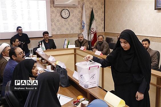دهمین دوره انتخابات مجلس دانش آموزی استان قم (دختران)