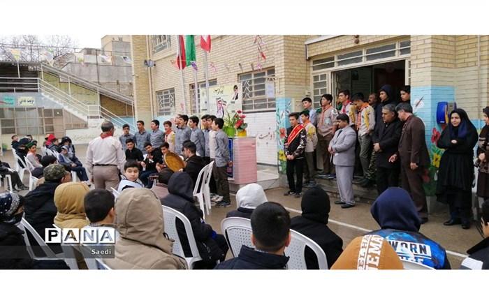 همایش تشکلات دانش آموزی مدرسه شهید رجایی