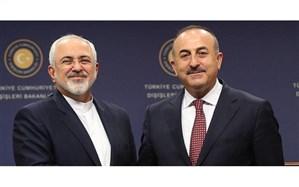 تاکید ظریف و چاوش اوغلو بر لزوم موضعگیری قاطع جهان اسلام در برابر فروش فلسطین
