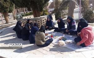 برنامه صبحانه سالم  در دبیرستان زینب (س) ابرکوه