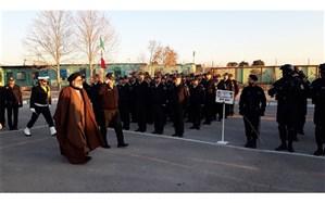 برگزاری  صبحگاه مشترک نیروهای نظامی و انتظامی در یگان ویژه شرق استان تهران