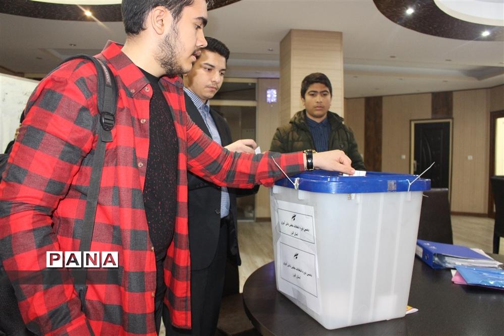 برگزاری دهمین دوره انتخابات مجلس دانشآموزی  در استان البرز