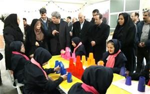 نمایشگاه جابربن حیان دانش آموزان با نیازهای ویژه  در تبریز افتتاح شد