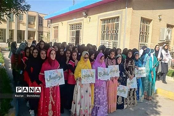 المپیاد ورزشی دبیرستان شبانه روزی مهر امیدیه (جایزان) به مناسبت دهه فجر