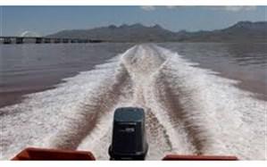 افزایش ۶۴ سانتیمتری دریاچه ارومیه نسبت به سال گذشته