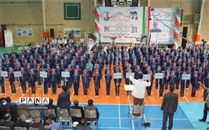 مانور تشکیلاتی «یاوران انقلاب» در اردبیل برگزار شد
