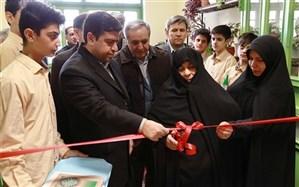 افتتاح آموزشگاه 6 کلاسه شهید مدافع حرم هاشم دهقانی نیا ناحیه یک اردبیل