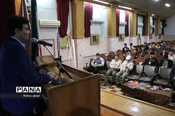 افتتاحیه دهمین دوره انتخابات مجلس دانش آموزی و شورای دانش آموزی استان بوشهر