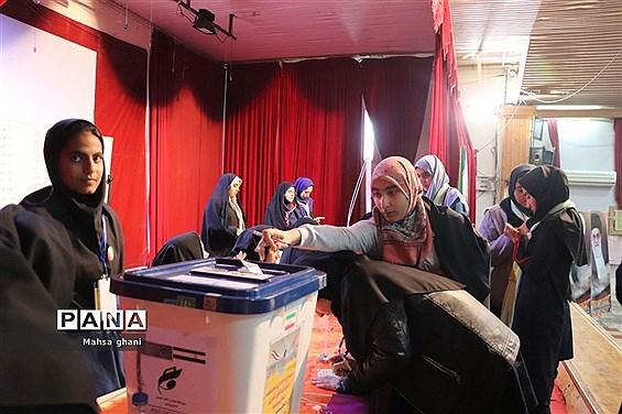 دهمین دوره انتخابات مجلس دانش آموزی و شورای دانش آموزی دختران  استان بوشهر