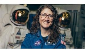 فضانورد زن رکورددار حضور در فضا به زمین بازمیگردد +تصویر