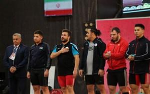 ایران قهرمان پنجمین دوره مسابقات وزنه برداری جام فجر شد