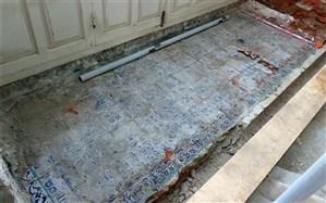 کشفی لاجوردی در مسجد تاریخی گیلان + تصویر