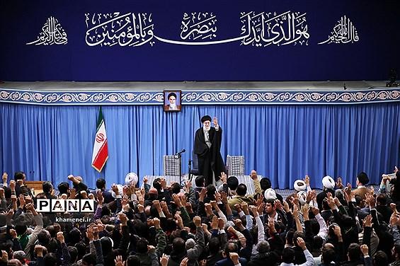 دیدار اقشار مختلف مردم با حضرت آیتالله خامنهای رهبر انقلاب اسلامی