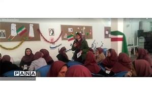 بازدید سرگروه درس تفکر و سبک زندگی منطقه8 از دبیرستان هاجر
