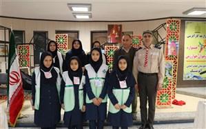 بازارچه کارآفرینی جشنواره نوجوان خوارزمی در قزوین برگزار شد