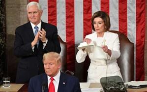 دابسمش مشهدی سخنرانی جنجالی ترامپ در کنگره و پارهکردن متن نطقش!