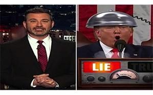 دروغ سنجی صحبتهای ترامپ توسط کمدین آمریکایی