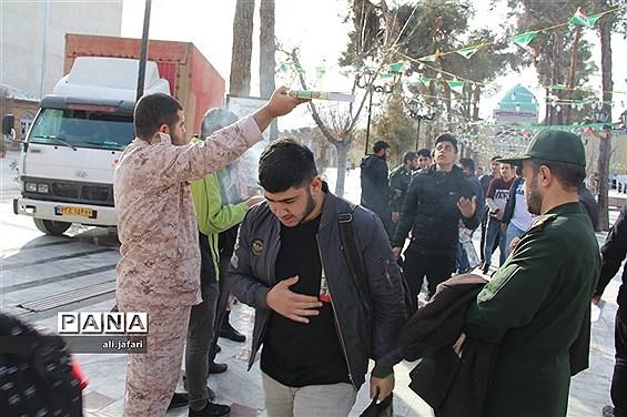 اعزام دانش آموزان پسر ناحیه یک شهرری به اردوی راهیان نور