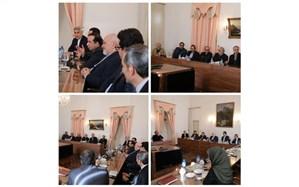 دیدار رئیس سازمان سینمایی و مدیران جشنواره فجر با ظریف