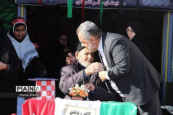 طرح ملی لاله های روشن یادواره شهید اخوت در دبستان شهید غفرانی
