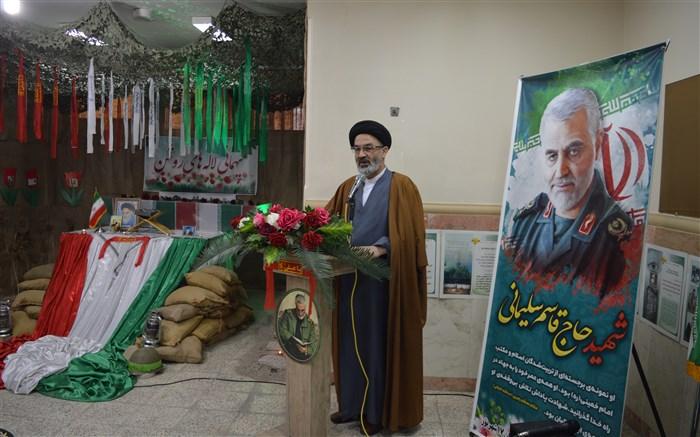 سخنرانی امام جمعه فیروزکوه در برنامه میهمانی لاله های روشن