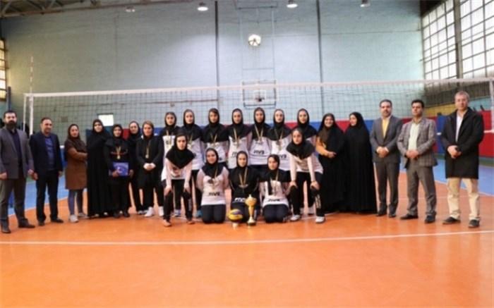 مسابقات والیبال دانش آموزان دخترمقطع دوم متوسطه