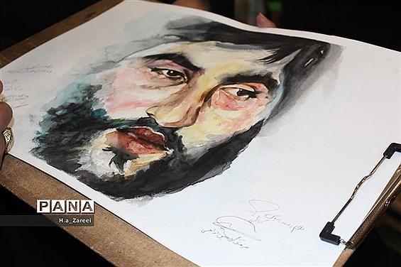 مراسم لاله های روشن فلاورجان اصفهان