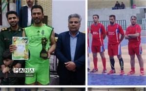 مسابقات فوتسال جام کارمندان ادارات شهرستان ابرکوه به پایان رسید