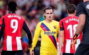 جام حذفی اسپانیا؛ کابوس حذف به بارسلونا رسید