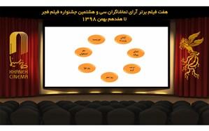 اعلام آرای مردمی بهترین فیلم مردمی جشنواره فجر تا پایان روز ششم