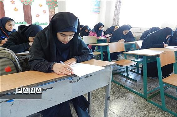 برگزاری مسابقات قرآن و عترت دختران دانشآموز ناحیه ۳ شیراز در آموزشگاه عباس الکوت