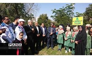 اردوی ۲۰۰۰نفری یاوران انقلاب پیشتازان ناحیه ۴ اهواز برگزار شد