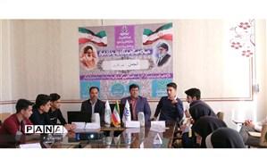 جلسه توجیهی تاسیس کانونهای خبری آموزشگاه در مدارس بافق