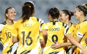 انتخابی فوتبال زنان المپیک؛ چین و استرالیا با جشنواره گل مدعی شدند