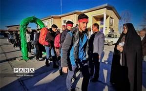 اعزام دانش آموزان بندرگز و کردکوی به راهیان نور + تصویر