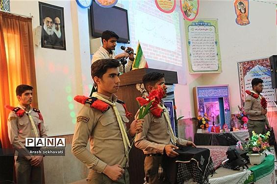 افتتاح مدرسه انقلاب هنرستان فنی و نمونه دولتی البرز خراسان جنوبی