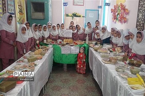 پویش ملی تغذیه سالم در دبستان بنیاد۱۵ خرداد ابرکوه