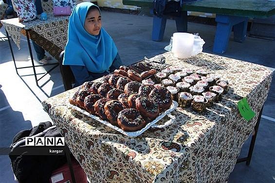 جشنواره غذایی درمدارس یزد