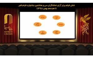 6 فیلم برتر آرای مردمی جشنواره فیلم فجر مشخص شدند