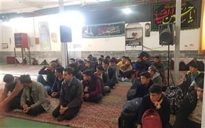 دانش آموزان پسردوره دوم شهرستان خوسف به اردو ی راهیان نور اعزام شدند