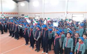 برگزاری مانور تشکیلاتی  یاوران انقلاب در دماوند